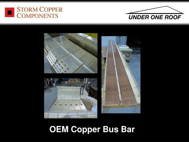 OEM Copper Bus Bar