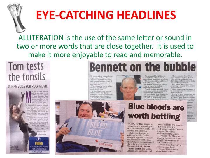 Eye catching headlines1