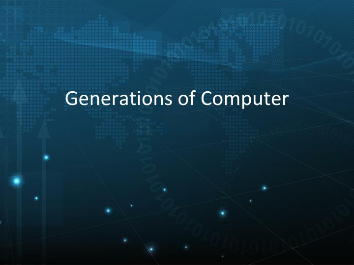 generations of computer n.