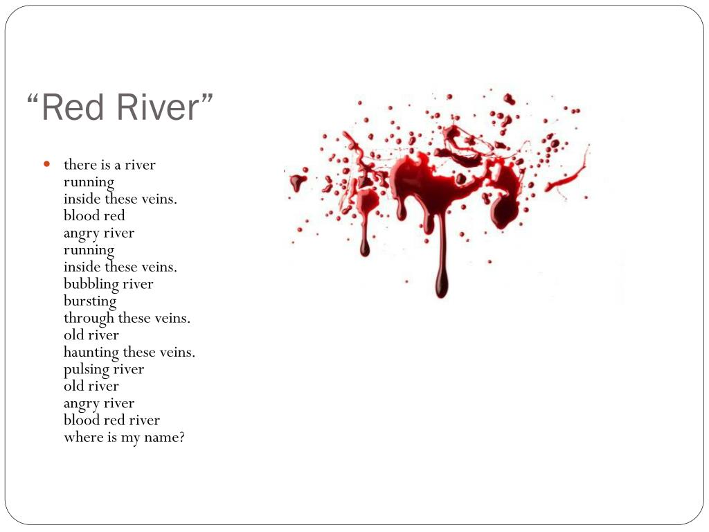 """PPT - """"Red River"""" PowerPoint Presentation - ID:2586224"""
