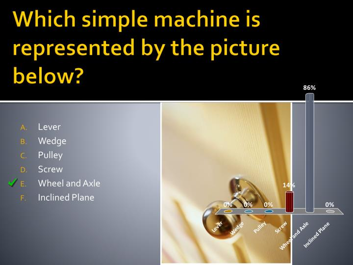Which simple machine is represented by the picture below
