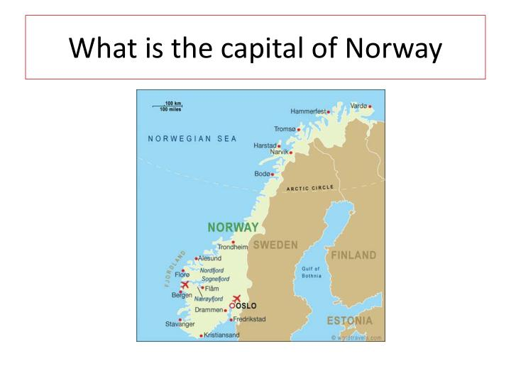 What is the capital of Norway