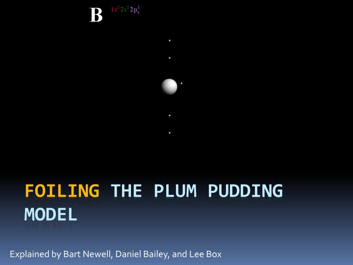 Explained by bart newell daniel bailey and lee box