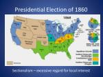 presidential election of 18602