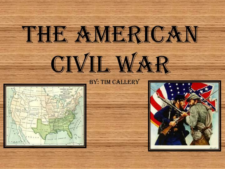 reasons that led to american civil war The american civil war (acw), also known as the war of the rebellion, the great rebellion, and several other names, was a civil war that was fought in the united states of america from 1861 to 1865.