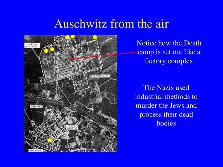 Auschwitz from the air