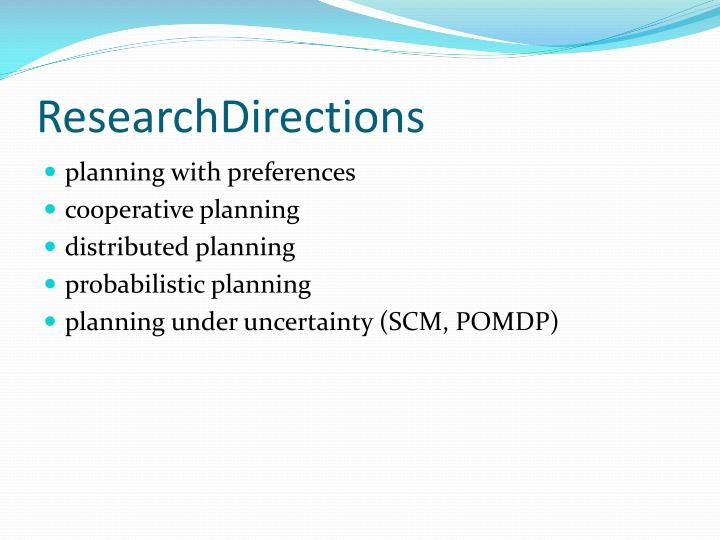 ResearchDirections