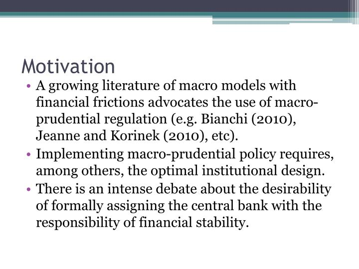 central bank independence and macro prudential regulation valencia fabian ueda kenichi