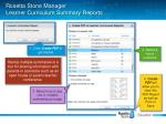 rosetta stone manager learner curriculum summary reports