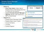 rosetta stone manager tools on portal