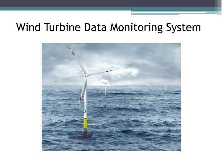 Wind Turbine Data Monitoring System