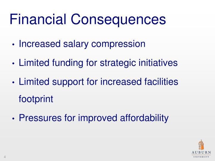 Financial Consequences