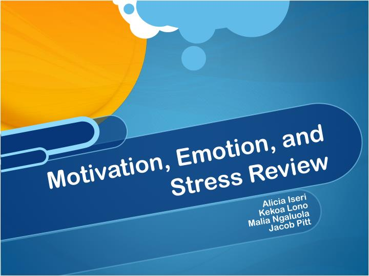 AP Psychology Review: Motivation and Emotion Flashcards ...