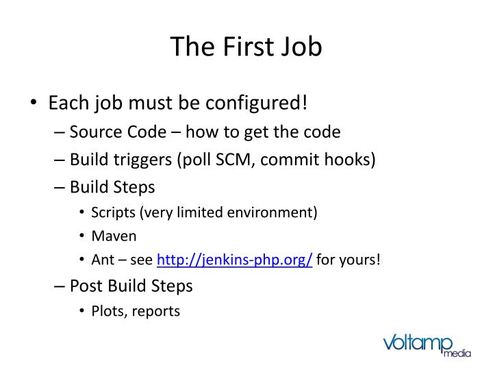 The First Job