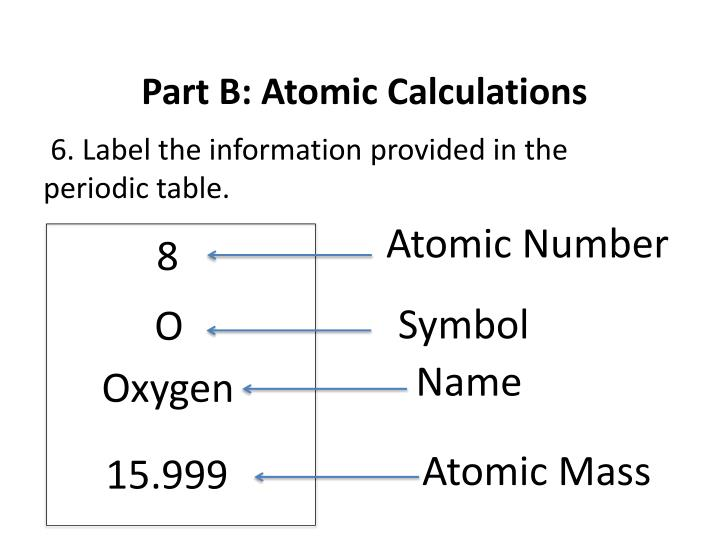 Ppt part a atomic structure powerpoint presentation id2589180 part b atomic calculations urtaz Image collections