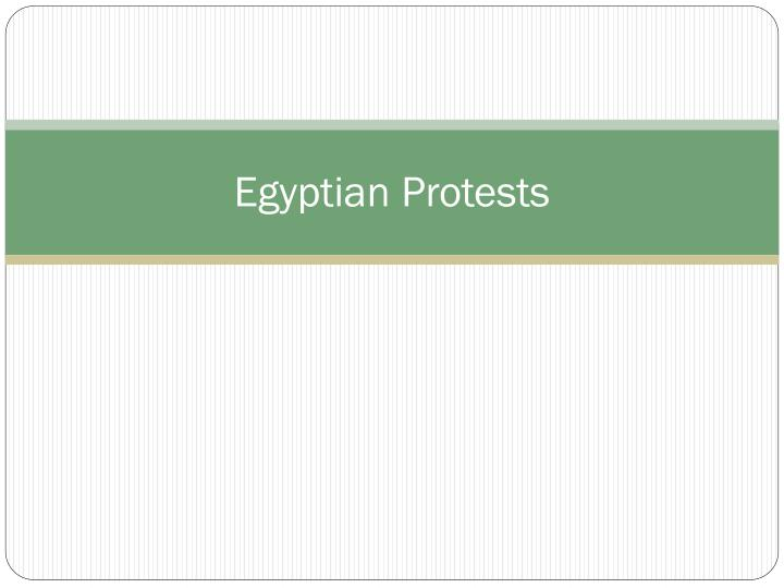 egyptian protests n.