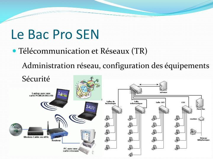 Le Bac Pro SEN