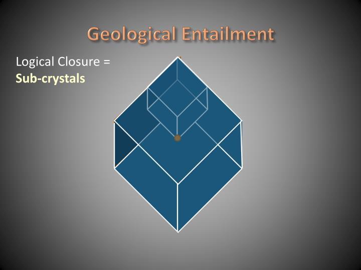 Geological Entailment