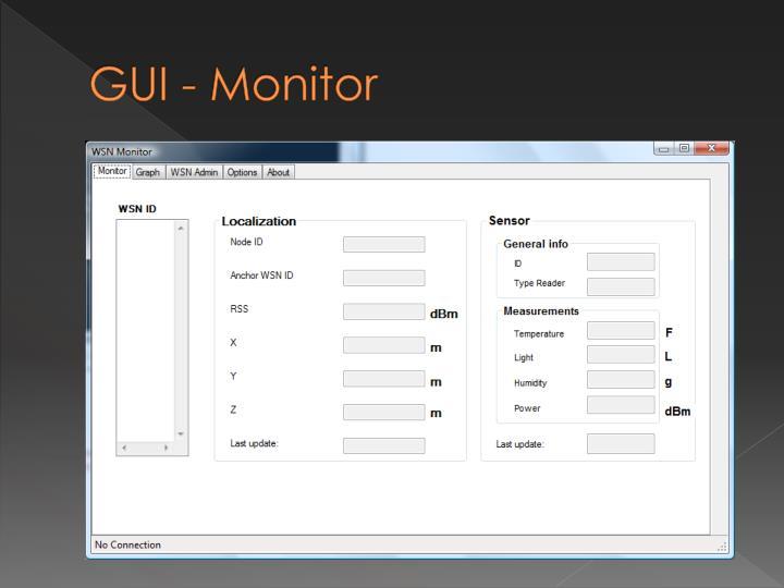 GUI - Monitor