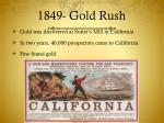 1849 gold rush