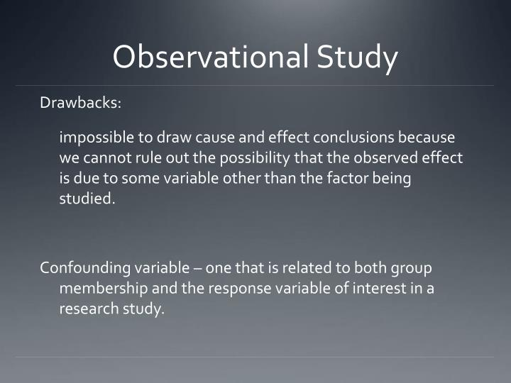 Observational Study