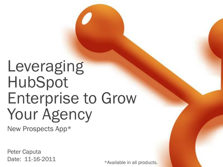 leveraging hubspot enterprise to grow your agency n.