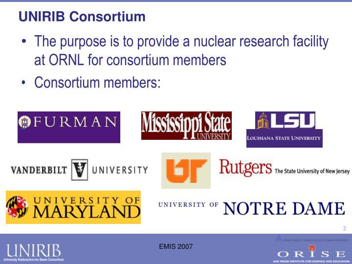 Unirib consortium