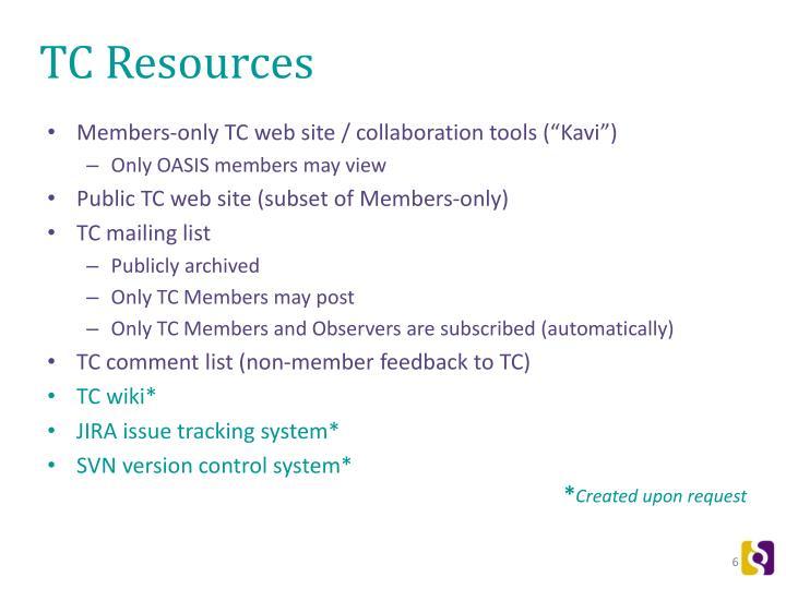 TC Resources