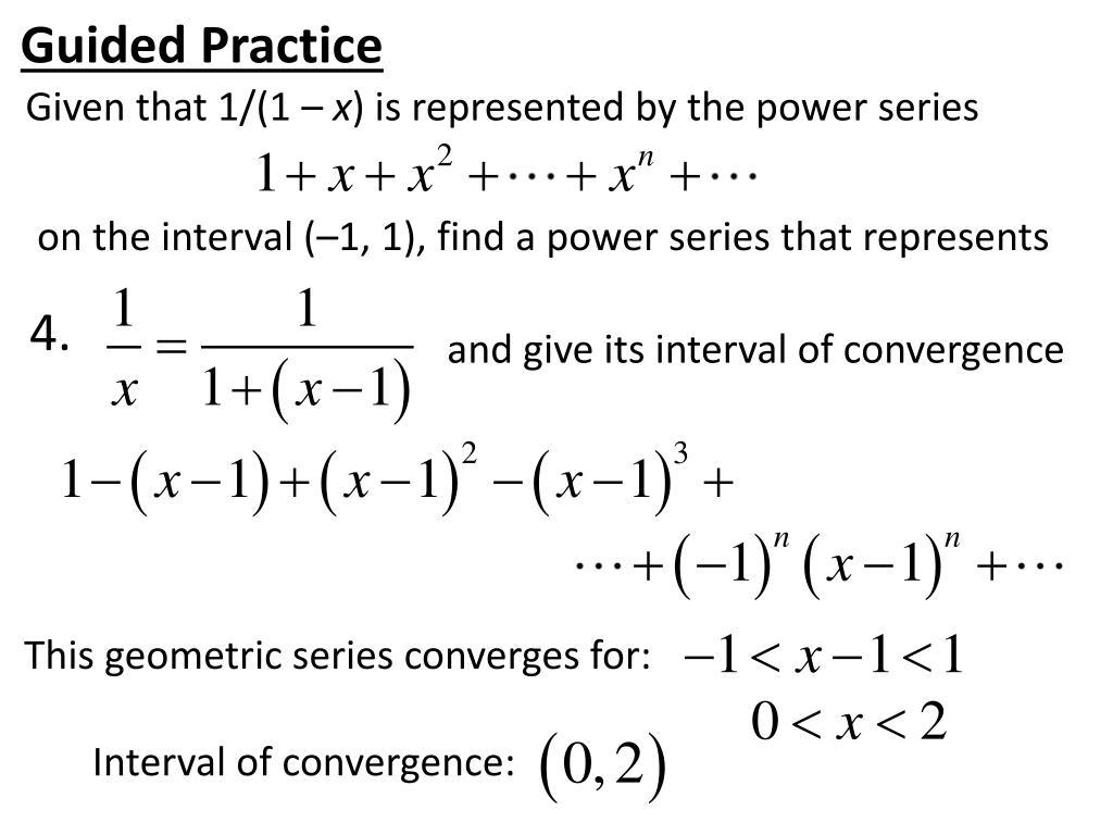 PPT - Power Series PowerPoint Presentation - ID:2590884