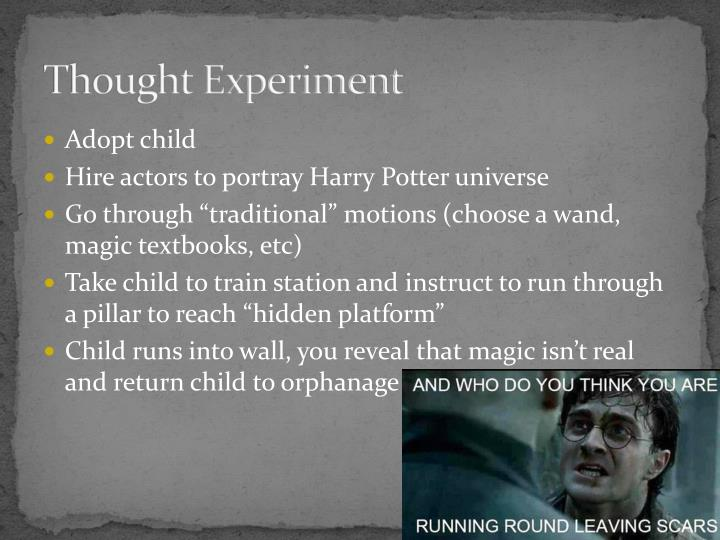 Thought experiment