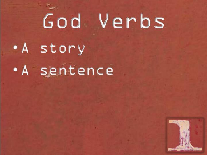 God verbs1