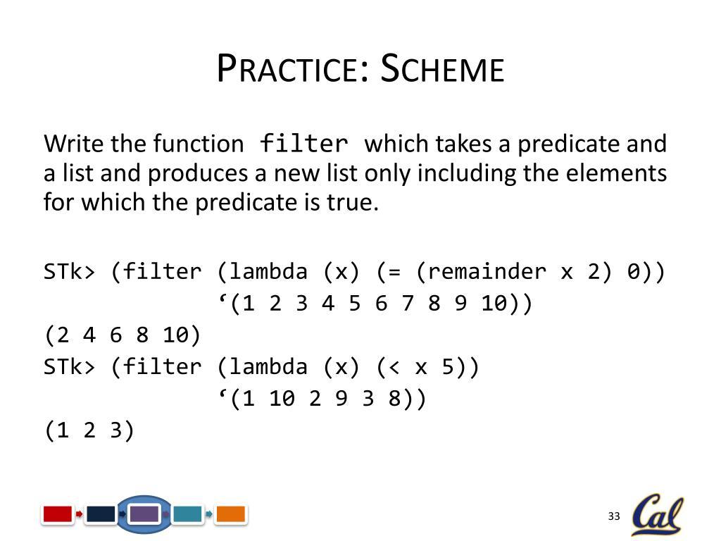PPT - CS61A Lecture 21 Scheme PowerPoint Presentation - ID