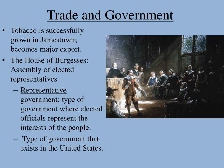 Trade and Government