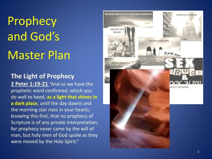 prophecy and god s master plan n.