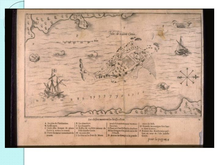 Samuel de Champlain explored North America between 1603 and 1635.  He was a