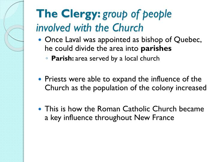 The Clergy: