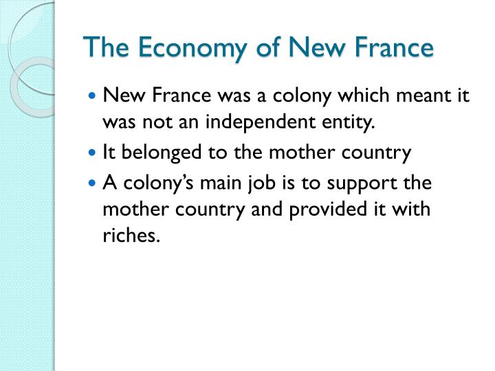 The Economy of New France