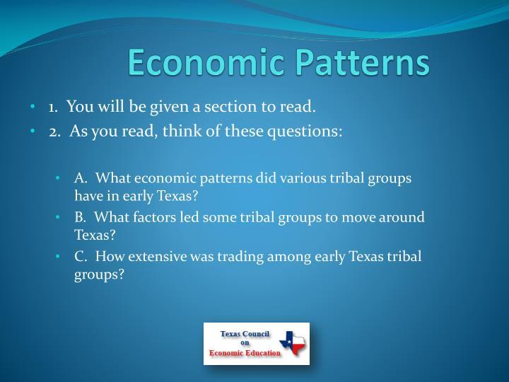 Economic Patterns