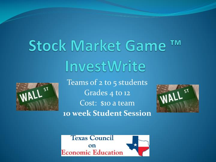 Stock Market Game ™