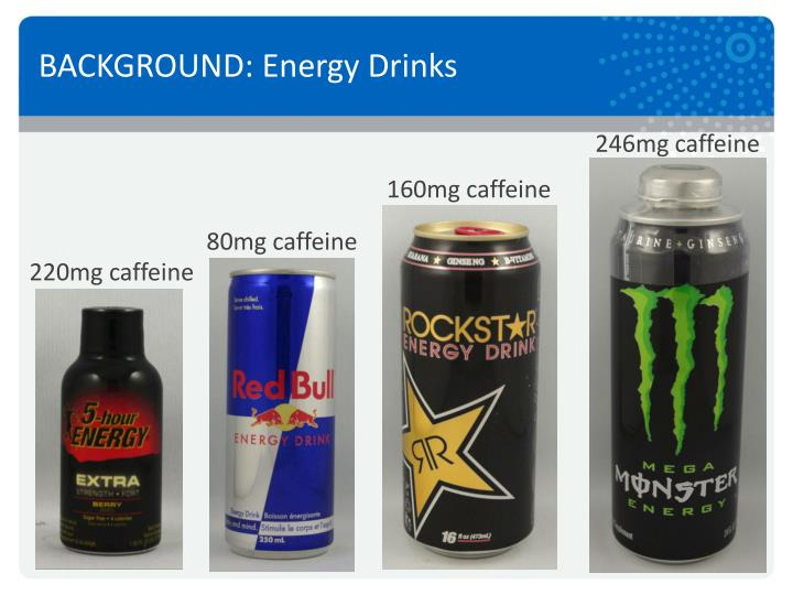 BACKGROUND: Energy Drinks