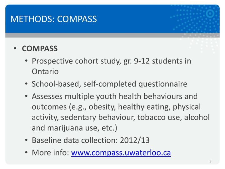 METHODS: COMPASS