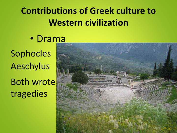 greek s contributions to western civilization