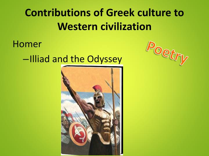 greeks contributions to civilization