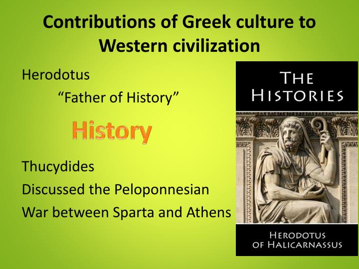 contributions to western civilization by the