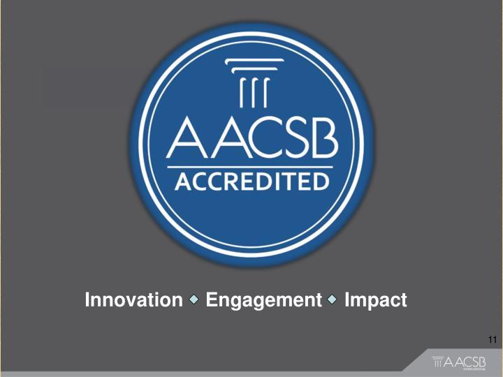 Innovation    Engagement    Impact
