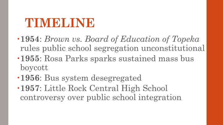 an analysis of brown versus board of education of topeka Brown v board of education was filed in the us district court in topeka, kansas, in february 1951 and litigated concurrently with briggs v elliot in south carolina oliver brown, one of thirteen plaintiffs, had agreed to participate on behalf of his seven-year-old daughter linda, who had to walk six blocks.