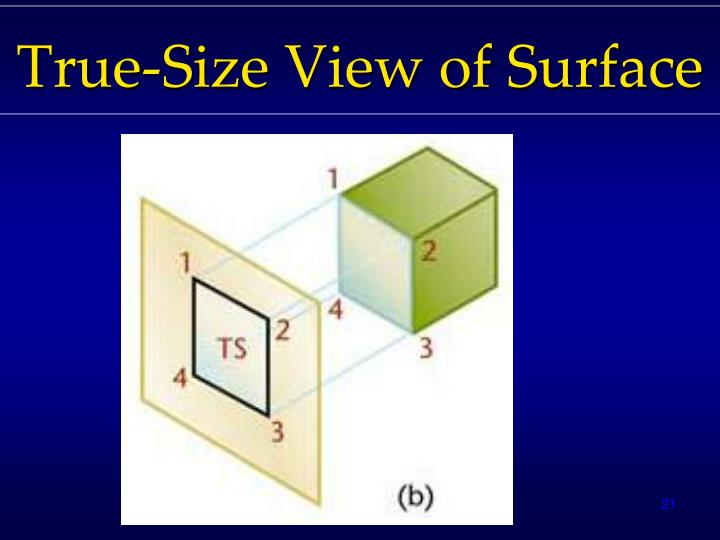 True-Size View of Surface