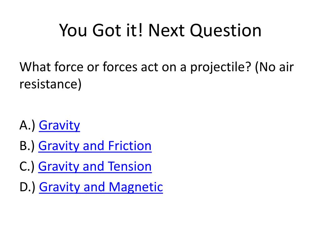 PPT - Projectile Motion! PowerPoint Presentation, free ...