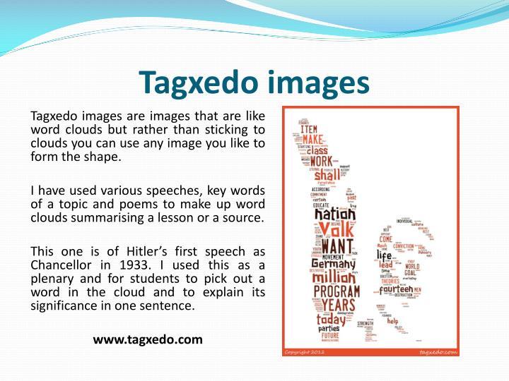 Tagxedo images