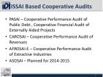 issai based cooperative audits